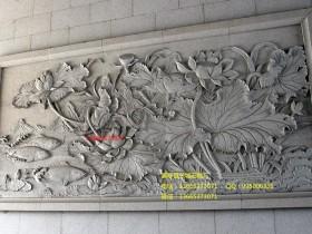石雕照壁建筑展现中华的风采
