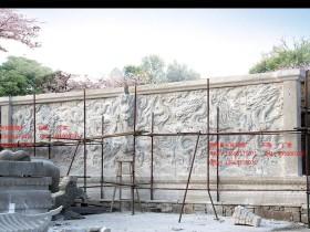 九龙壁石雕制作过程