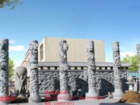 石雕龙柱雕刻寓意