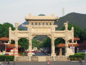古城石牌坊图片及文化价值