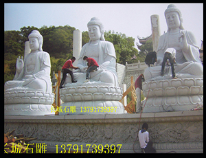 唐朝风格石雕佛像