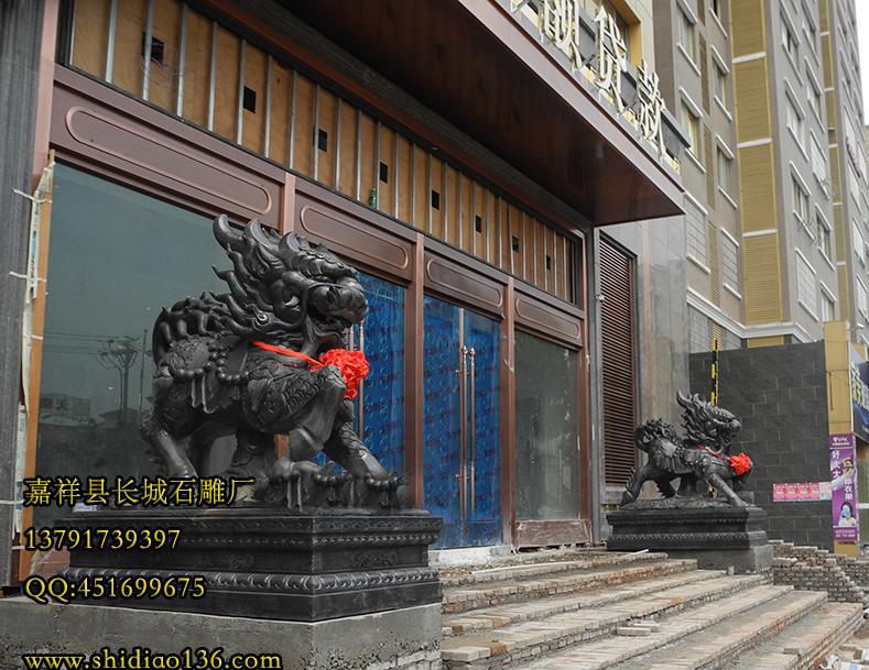 麒麟石雕雕刻