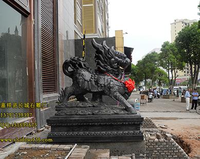 石雕麒麟石狮子造型工艺该怎么去创作