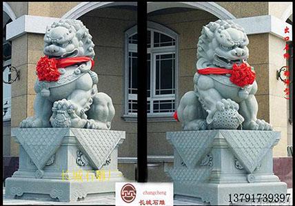 石狮子麒麟貔貅等石雕吉祥雕刻是怎么区分的