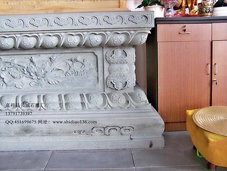 寺院石雕须弥座