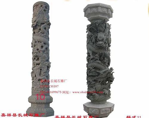 嘉祥石雕龙柱以什么特点吸引人们