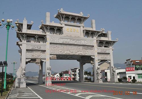 徽州石雕牌楼为什么独具建筑特色