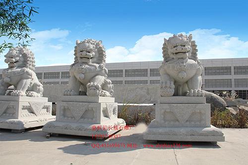 古代石雕狮子艺术中的南狮与北狮