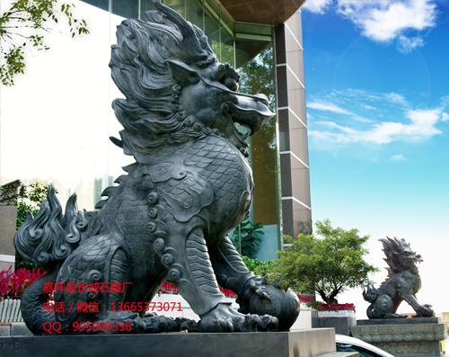 石雕麒麟的风水作用和传说
