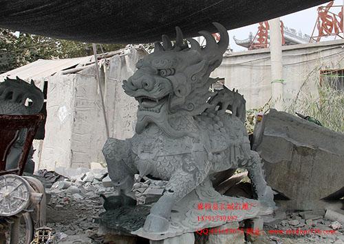 石雕麒麟在古代文化中所体现的吉祥意义