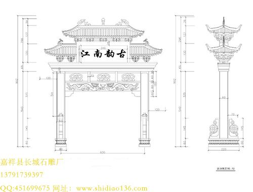石牌楼的由来与设计原则