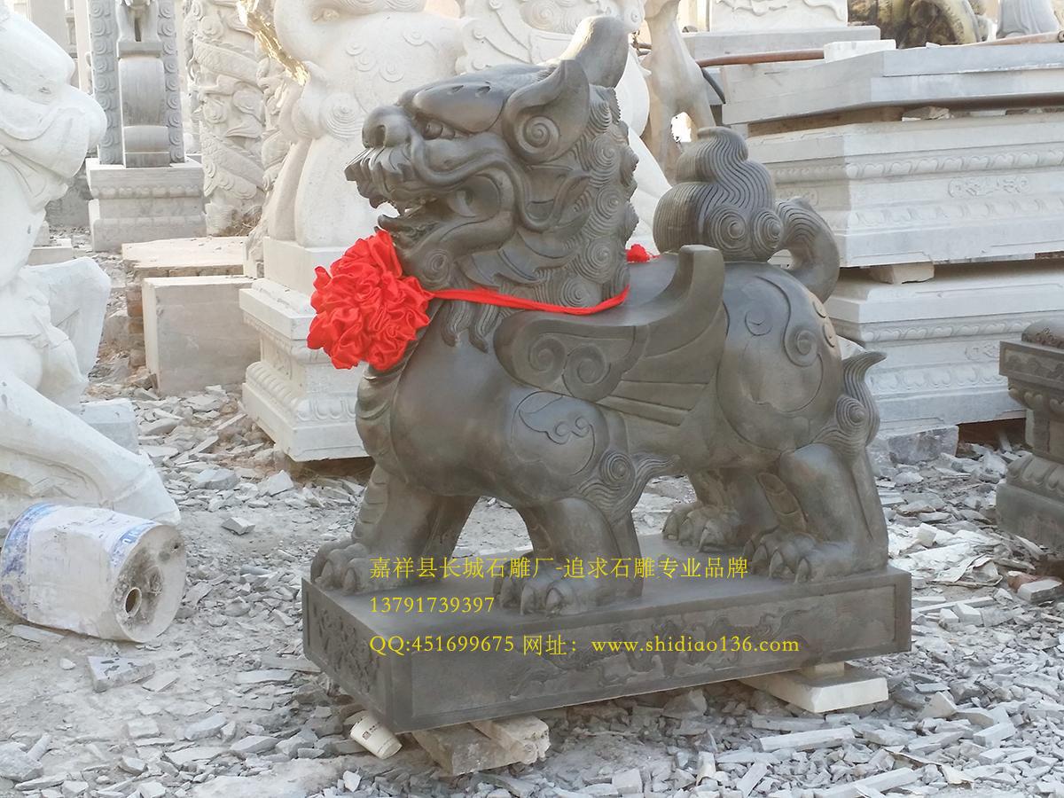 貔貅石雕,聚财貔貅雕刻 ,皮休,pixiu