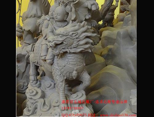 麒麟送子石雕的含义和雕刻过程