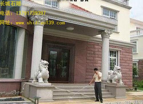 大理石雕刻的貔貅优点与工艺