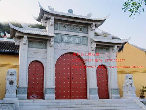 为什么石牌坊和寺院山门有很高的价值