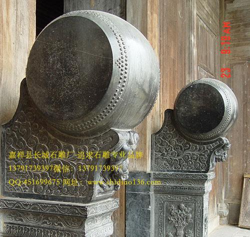 为什么老宅院门口都有石雕门鼓呢