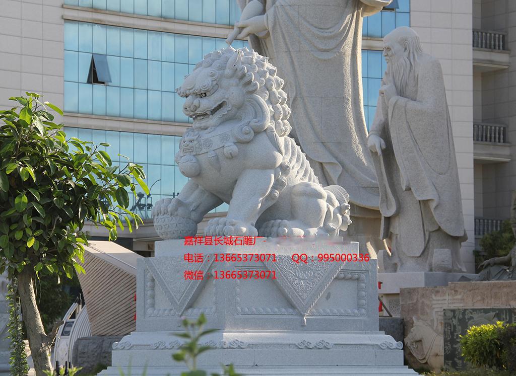 花岗岩石雕狮子样式图片